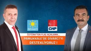 İyi Parti'de Pamukkale'de Ahmet Divarcı dedi