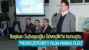 """""""MERKEZEFENDİ 5 YILDA MARKA OLDU"""""""