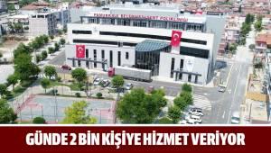 Pamukkale Belediyesi Semt Polikliniği günde 2 bin kişiye hizmet veriyor