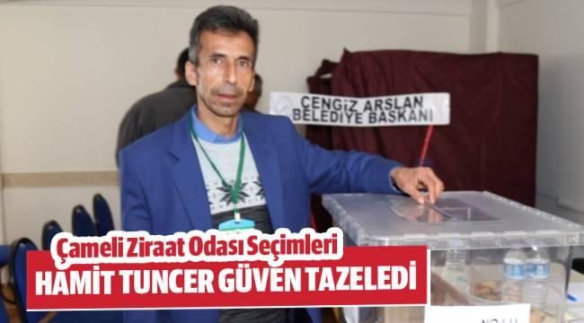 Tuncer yeniden başkan seçildi.