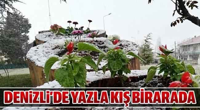 DENiZLi'DE YAZLA KIŞ BİRARADA