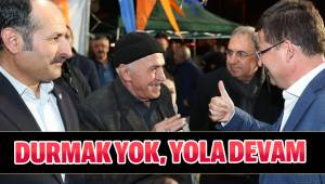 DURMAK YOK, YOLA DEVAM