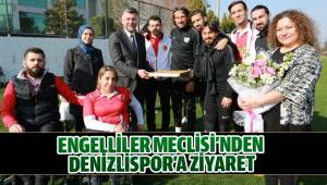 ENGELLİLER MECLİSİ'NDEN DENİZLİSPOR'A ZİYARET