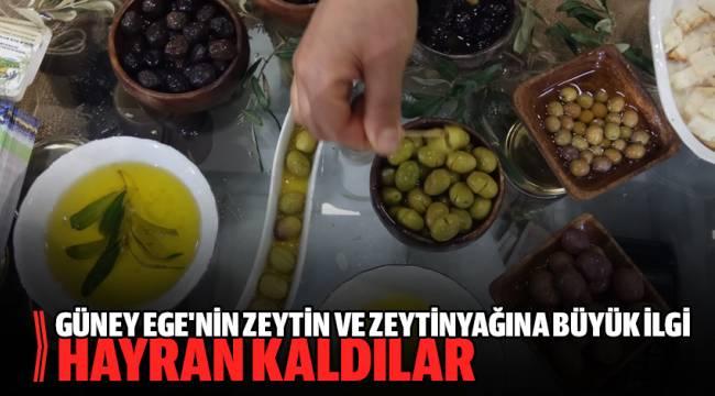 GEKA Aydın, Denizli, Muğla'nın zeytin ve zeytinyağını tanıtıyor