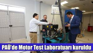 Laboratuar elektrikli ve hibrit taşıt çalışmalarına ivme kazandıracak