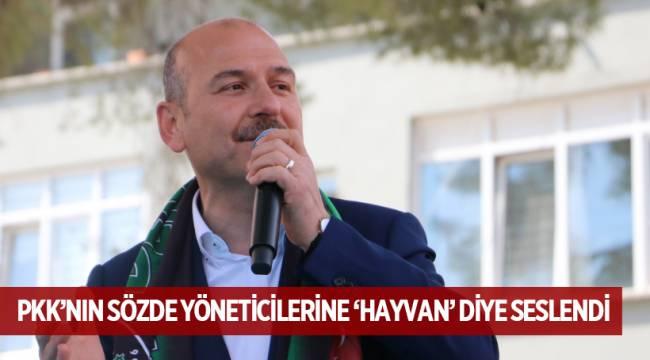 PKK'NIN SÖZDE YÖNETİCİLERİNE 'HAYVAN' DİYE SESLENDİ