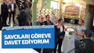 SAVCILARI GÖREVE DAVET EDİYORUM
