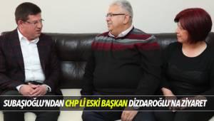 SUBAŞIOĞLU'NDAN CHP ESKİ İL BAŞKANI DİZDAROĞLU'NA ZİYARET