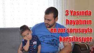 3 Yaşında hayatının en zor sorusuyla karşılaşıyor