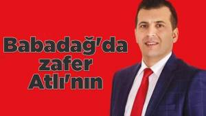 Babadağ'da başkan tekrar Ali Atlı oldu