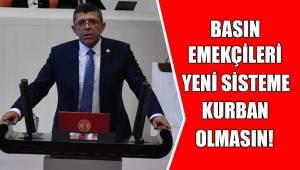 BASIN EMEKÇİLERİ YENİ SİSTEME KURBAN OLMASIN!