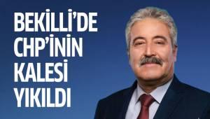 BEKİLLİ'DE CHP'İNİN KALESİ YIKILDI
