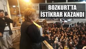 BOZKURT'TA İSTİKRAR KAZANDI