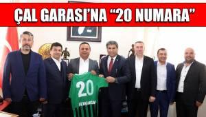 "ÇAL GARASI'NA ""20 NUMARA"""