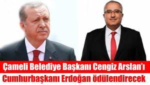 Cengiz Arslan'a Erdoğan'dan Ödül