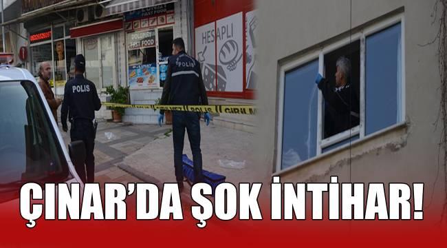 Çınar'da Şok İntihar!