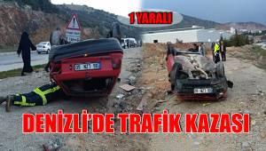 DENİZLİ'DE TRAFİK KAZASI