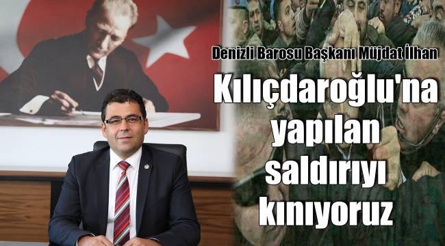 Kılıçdaroğlu'na yapılan saldırıyı kınıyoruz