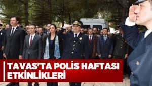 TAVAS'TA POLİS HAFTASI ETKİNLİKLERİ