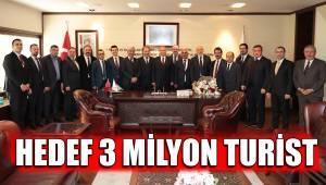 Turizmcilerden Başkan Osman Zolan'a teşekkür