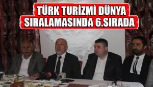 TÜRK TURİZMİ DÜNYA SIRALAMASINDA 6.SIRADA