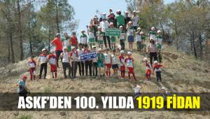 ASKF'DEN 100. YILDA 1919 FİDAN
