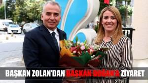 Başkan Zolan'dan Başkan Doğan'a ziyaret