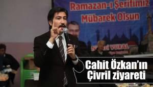Cahit Özkan'ın Çivril ziyareti