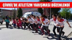 Çivril'de atletizm yarışması düzenlendi