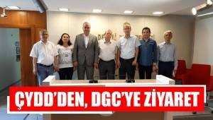 ÇYDD'DEN, DGC'YE ZİYARET