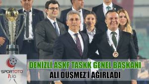 DENİZLİ ASKF TASKK GENEL BAŞKANI ALİ DÜŞMEZ'İ AĞIRLADI