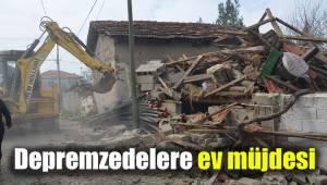 Depremzedelere ev müjdesi