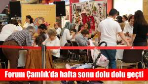 Forum Çamlık'da hafta sonu dolu dolu geçti
