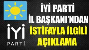 İYİ Parti'den istifayla ilgili açıklama