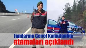 Jandarma Genel Komutanlığı atamaları açıklandı