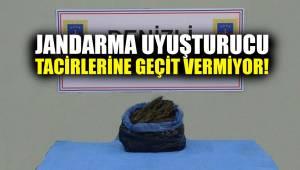 Jandarma uyuşturucu tacirlerine geçit vermiyor!