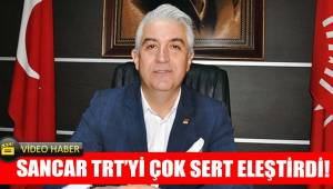 Sancar TRT'yi çok sert eleştirdi!