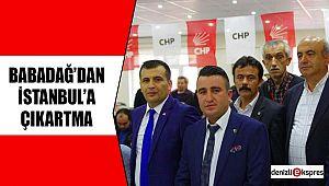 BABADAĞ'DAN İSTANBUL'A ÇIKARTMA