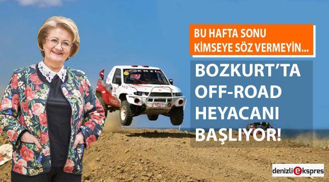 Bozkurt'ta off-road heyacanı başlıyor!