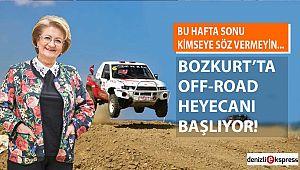 Bozkurt'ta off-road heyecanı başlıyor!
