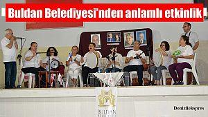 Buldan Belediyesi'nden anlamlı etkinlik