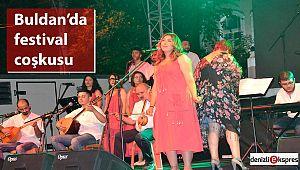 Buldan'da festival coşkusu