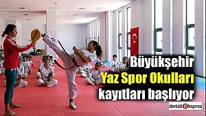 Büyükşehir Yaz Spor Okulları kayıtları başlıyor