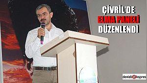 ÇİVRİL'DE ELMA PANELİ DÜZENLENDİ