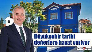 Çivril Mavi Konak'ın restorasyonu tamamlandı