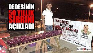 DEDESİNİN 50 YILLIK SIRRINI AÇIKLADI