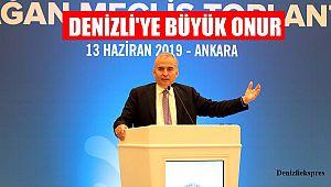 DENİZLİ'YE BÜYÜK ONUR