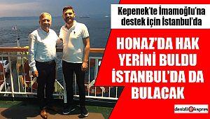 Honaz'da hak yerini buldu, İstanbul'da da bulacak