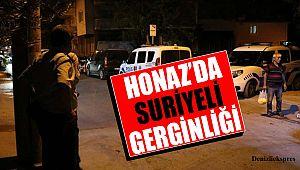 Honaz'da Suriyeli gerginliği