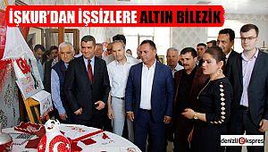İŞKUR'DAN İŞSİZLERE ALTIN BİLEZİK